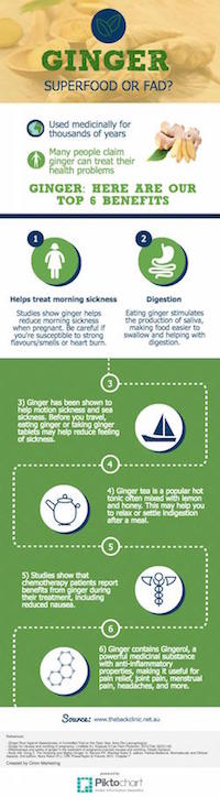 ginger infographic